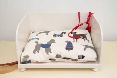 Dog bed cushion