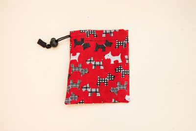 Scottie dog treat bag