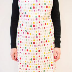 Adult abstract apron