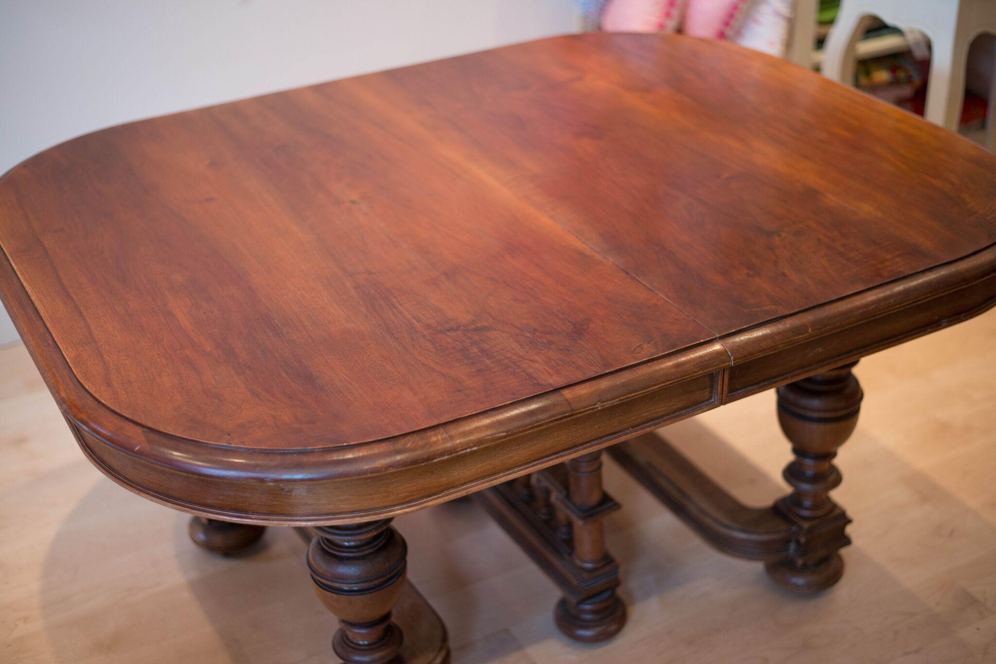 French mahogany table