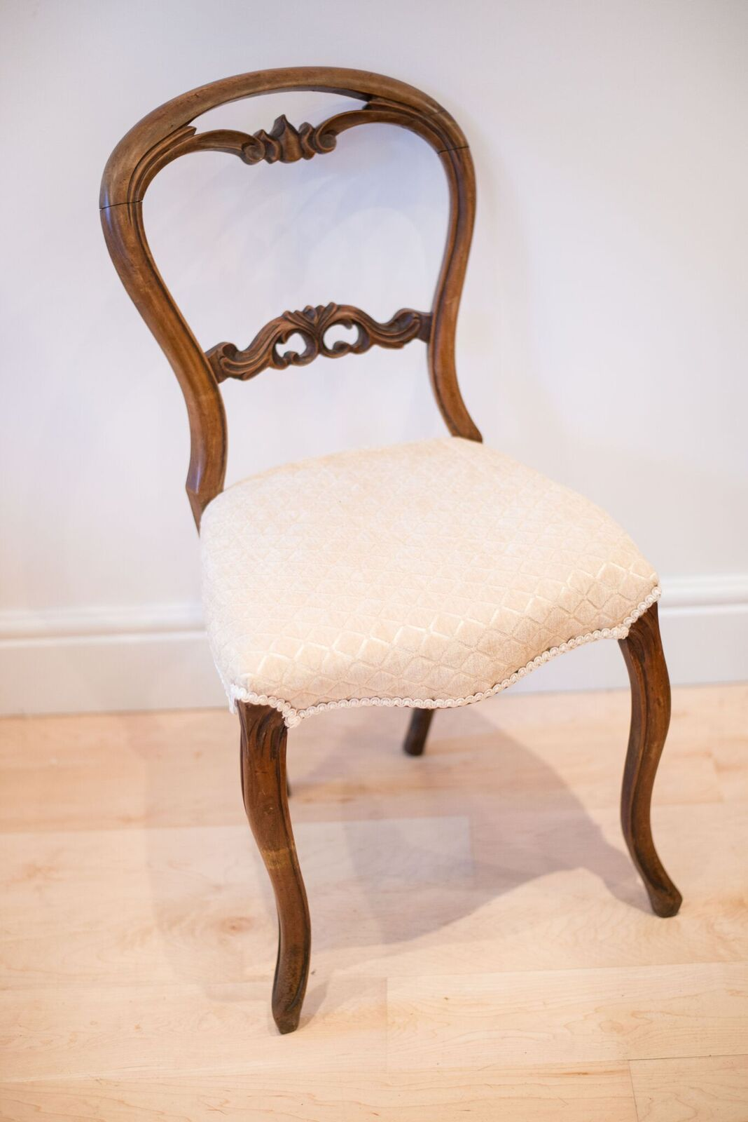 Cream occasional chair