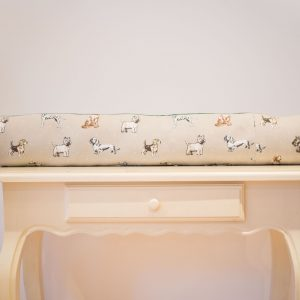 Brown Spotty Dogs Draught Excluder
