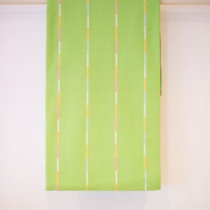 Green Striped Bedspread